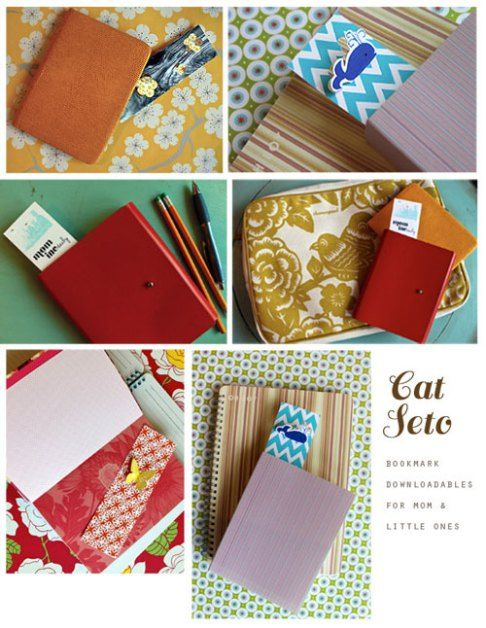 Printable Bookmarks Cat Seto | DIY craftious | Pinterest | Cats ...