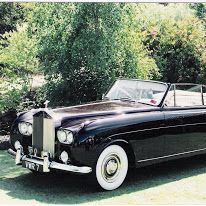 1957 Rolls Royce Silver Cloud Convertable