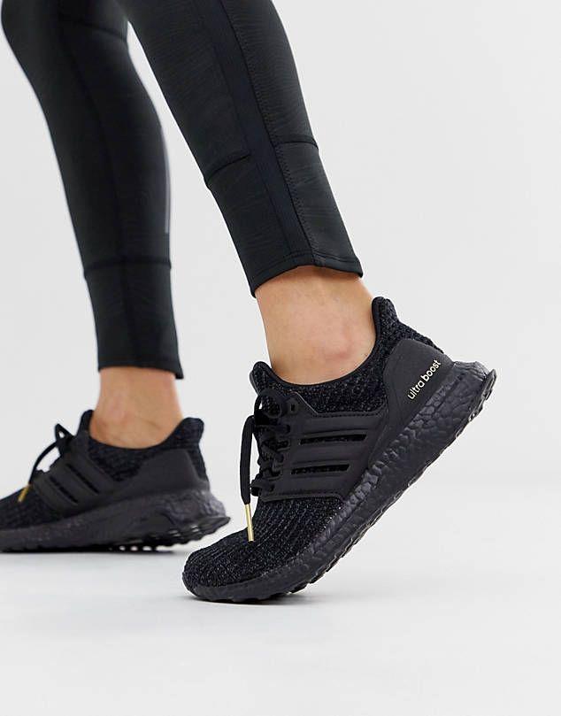 zapatillas adidas mujer negras casual
