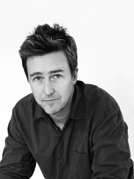 Edward Norton-can't decide between him and another actor (maybe Johnny Depp?) for the role L.B. Jefferies in a remake of Rear Window.