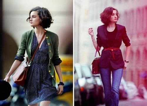 Many Parisian women, both young and older have developed a french chic clothing style that is unique to Paris. They own a small minimalist closet containing only a handful of stylish clothes that perfectly meet their needs.