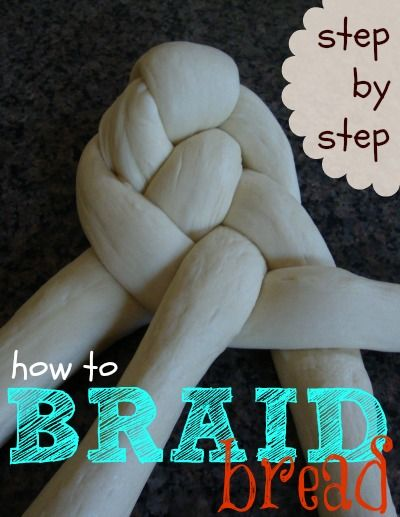 Braided bread.  So beautiful!