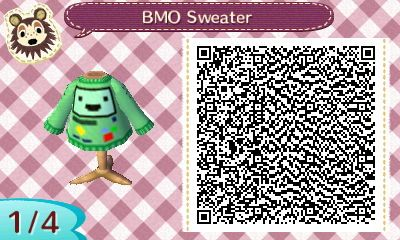 Adventure Time Animal Crossing QR Codes - YAYOMG