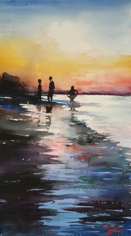Wstercolor by Aynur Akalin.Turkey