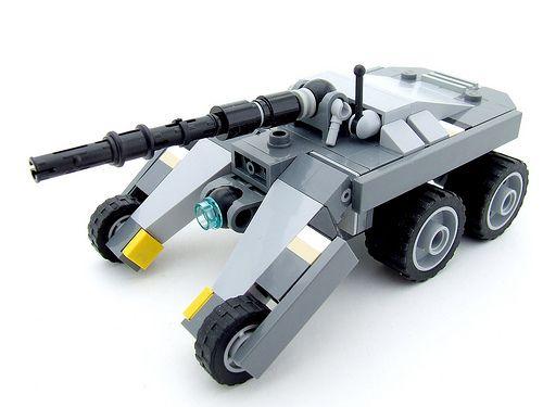 """""""Lobster"""" UGCV, sniper cannon variant   Shadow Viking   Flickr"""