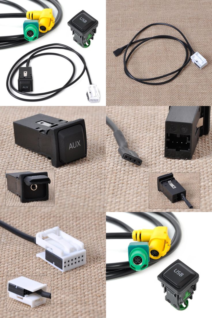 visit to buy new abs usb aux switch plug cable kit 5kd035726 a 5kd035724 a