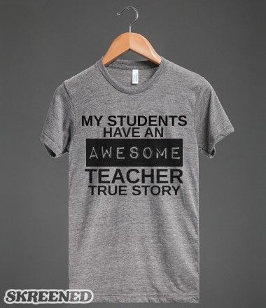 Awesome Teacher, Great for a Teacher as a Back to School Gift
