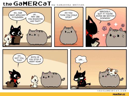 gif,gif animation, animated pictures,pusheen,comics,funny comics & strips, cartoons,cat
