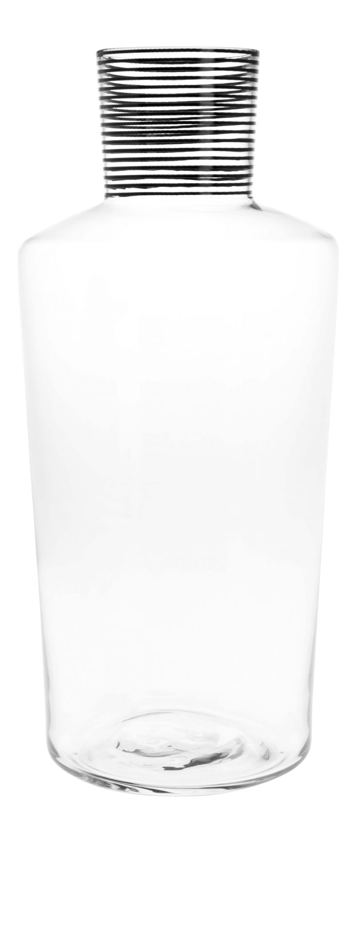 DANDY DANDY/ GLASS CARAFE WITH BLACK
