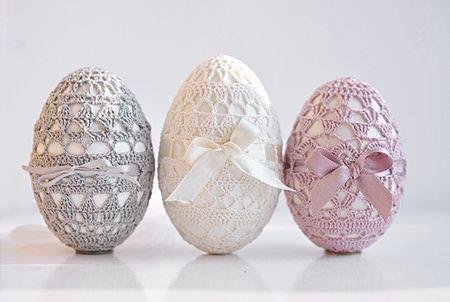 Decorazioni di Pasqua shabby chic - Fotogallery Donnaclick