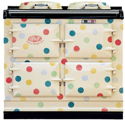 The polka dot lovers kitchen! A world of spots for your kitchen