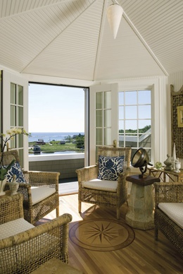 Coastal Living Magazine.  View from a cupola.