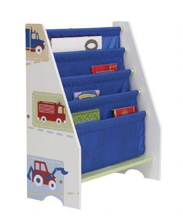 Kirjahylly kangashyllyillä, auto - Lasten kalusteet 627693 Shop - Eurotoys - Lasten huonekalut online