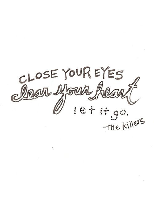 Human, The Killers.  This is arguably one of my favorites lyrics of theirs <3