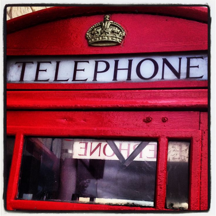 Red #telephonebox found in #bolsover #derbyshire