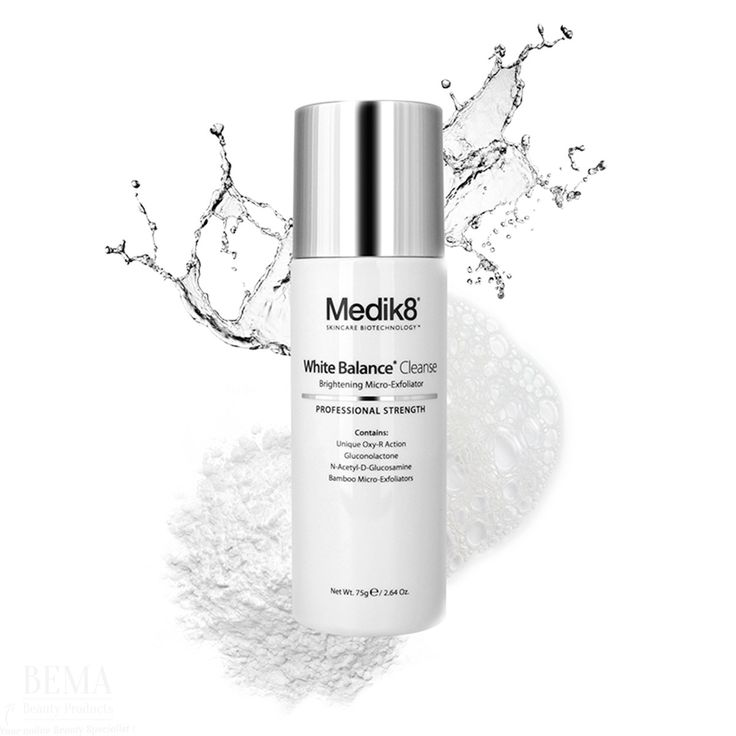 Medik8 White Balance Cleanse #cleanser #cleaning #face #natural #scrub #powder