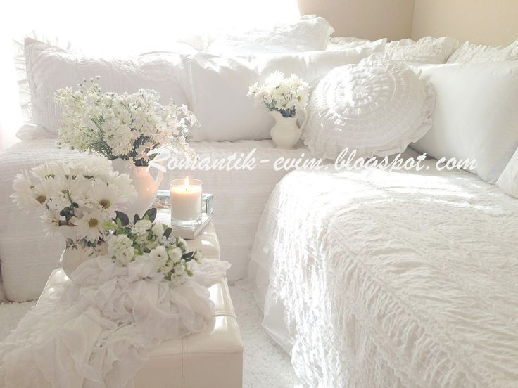 My white home
