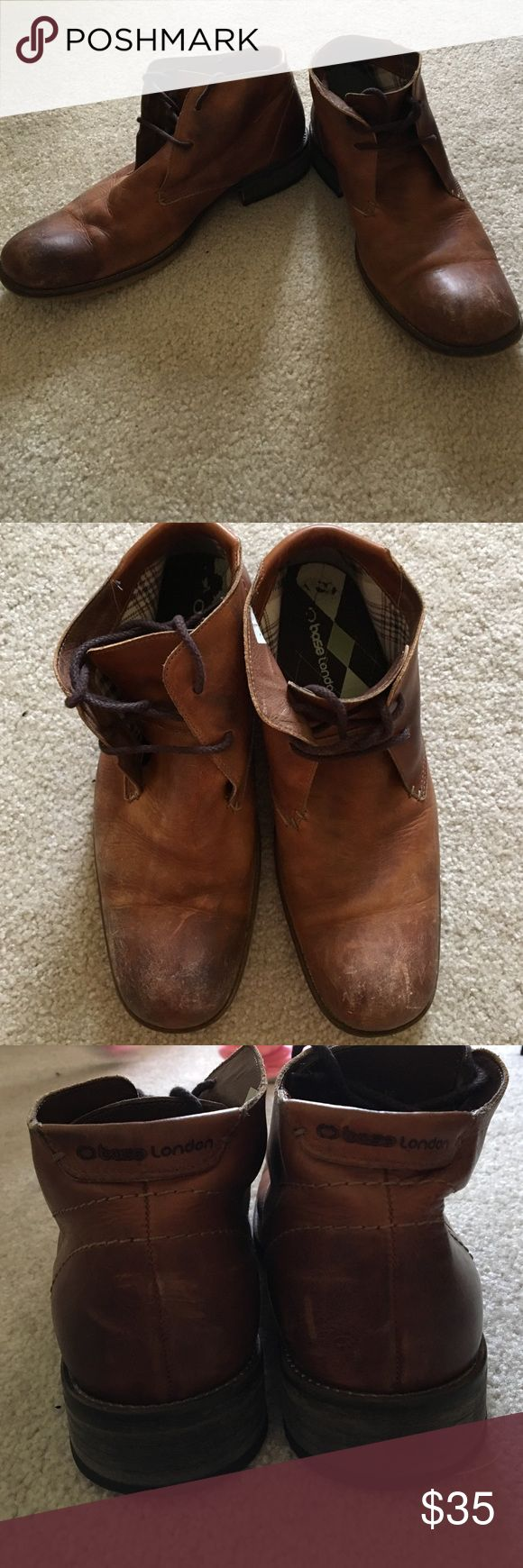 Bass London brown boots Gently used base London brown boots UK SIZE 41 Bass london Shoes Boots