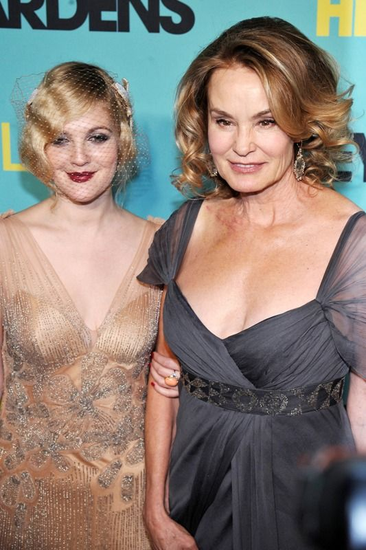 Drew Barrymore and Jessica Lange | Kibbe: Romantic | Pinterest