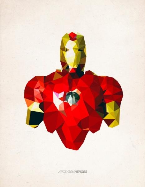 Heroes in polygons