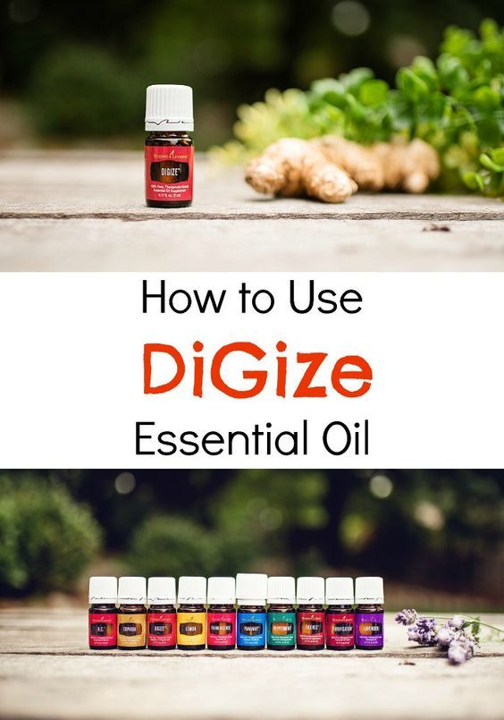 DiGize Essential Oil Young Living - How to Use an oil that supports your digestive system in an all natural way, made only from plant material!