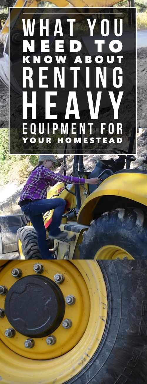 If you own land, it's a matter of time before you need to use construction equipment. Learn everything you need to know in this article!