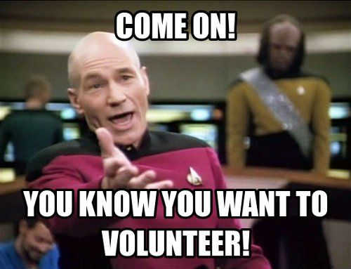 Here are some memes our office came across while searching Google. We  present you with five reasons you should volunteer as a Musikfest Roadie.  1. Volunteering brings the best out of people.  2. It brings people together.   3. It strengthens our community.   4. It's good for you.   5. You get a chance to give back.   Join us under the Festplatz tent and get your seat early by joining the  Roadie Crew. Musikfest takes place on Sunday, August 9 at 10 a.m.. Please  sign up for…