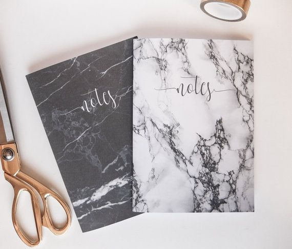 Marble Notebook - Travel Journal - Stapled Notebooks -Pocket Notebook - Journal - A5 Notebook - Bullet Journal - Planner - Sketchbook