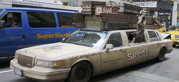 Spooky Dudes Limousine in NYC