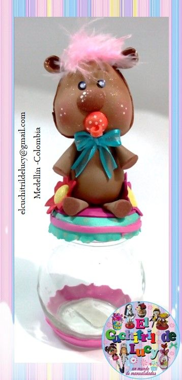 Recordatorio para  bautizo /baby shower...  https://www.facebook.com/cuchitrildelucy/