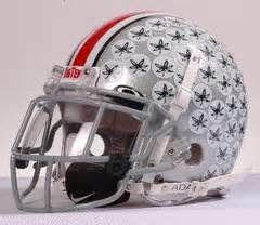 Ohio state football helmet picture