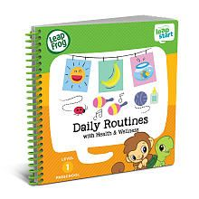 LeapFrog LeapStart Preschool Daily Routines Activity Book