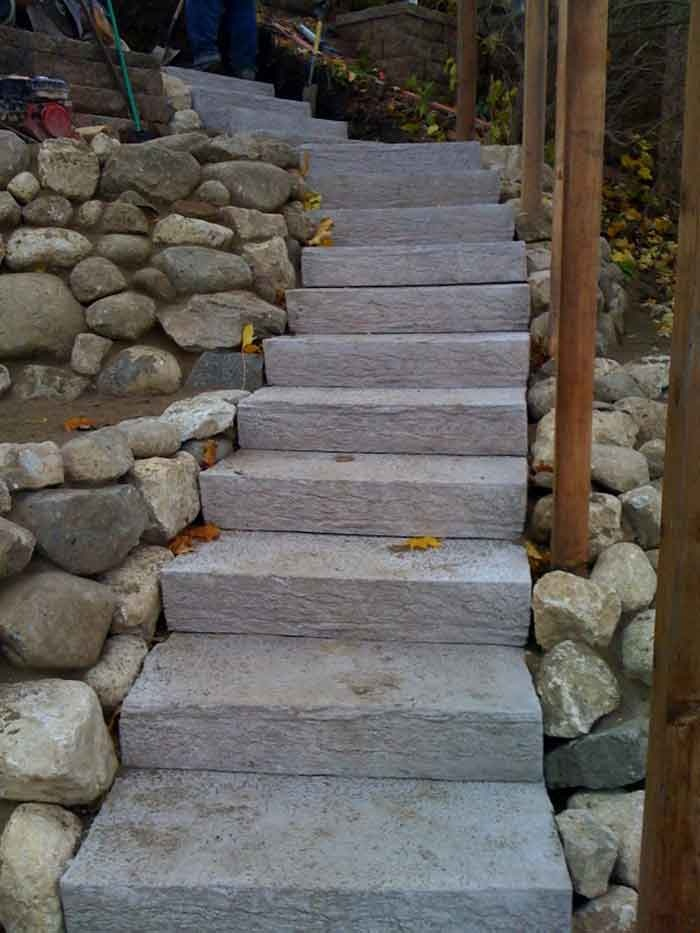 Rock Steps: 17 Best Images About Brick And Stone Ideas On Pinterest