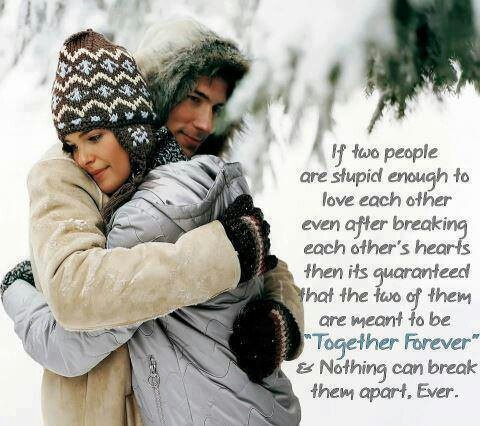 Together Forever Advice Quotes Sayings