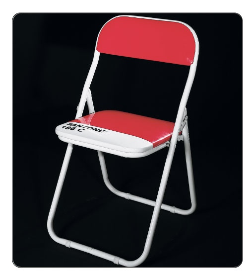 Pantone 186C Chair ... a must for any artist.