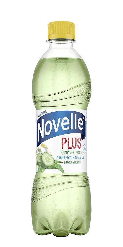 Novelle Plus Kromi + Sinkki tukee kehon uudistumista ja hyvinvointia sisältäpäin. Juoman raikas maku tulee aidosta kurkusta ja mintusta sitruunalla maustettuna. Novelle Plus Kromi + Sinkki sisältää aineenvaihduntaa ylläpitävää kromia ja sinkkiä 40 % päivän tarpeesta.