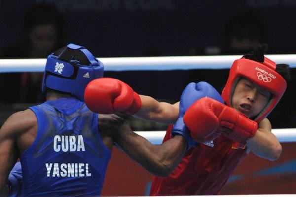 Cuba sigue dando duro en el boxeo. Foto: Ricardo López Hevia
