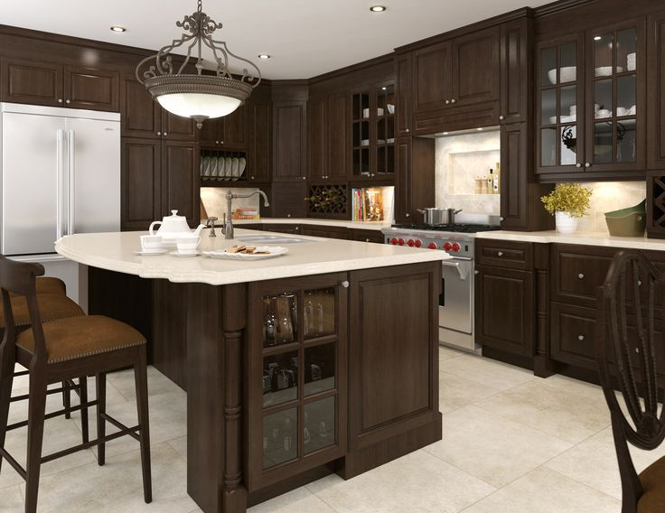Instant Kitchen Cabinets : Traditional kitchen from eurostyle fallidays