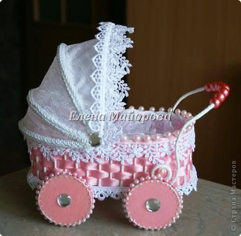 Moldes para Feltro: Carrinho de Bebê