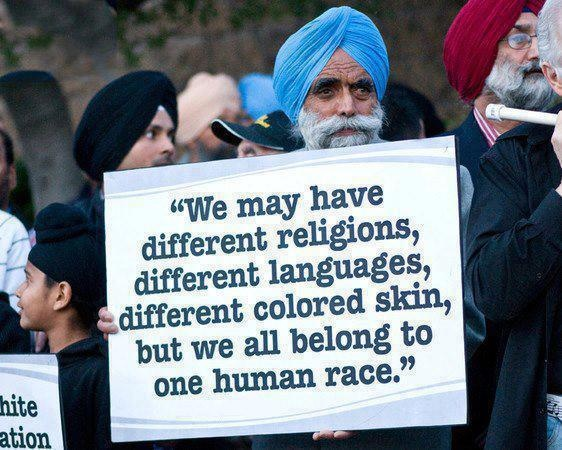 one human race if only everyone believed in equality the world would be at peace
