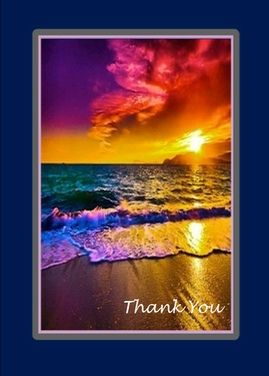 """Hassomeonein your life recently donesomething extra  nice for you?Howabout sendingthem  a """"Thank You"""" card?Youcan do it right now. Clickonthe card below, typein your own message and push the send button. It'sthat easy"""