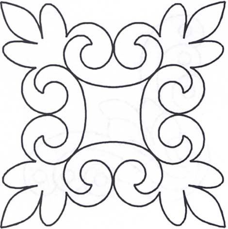 Quilting Stencil Ideas : 17 Best images about Quilting - Stencils on Pinterest Chain links, Celtic knots and Flower ...