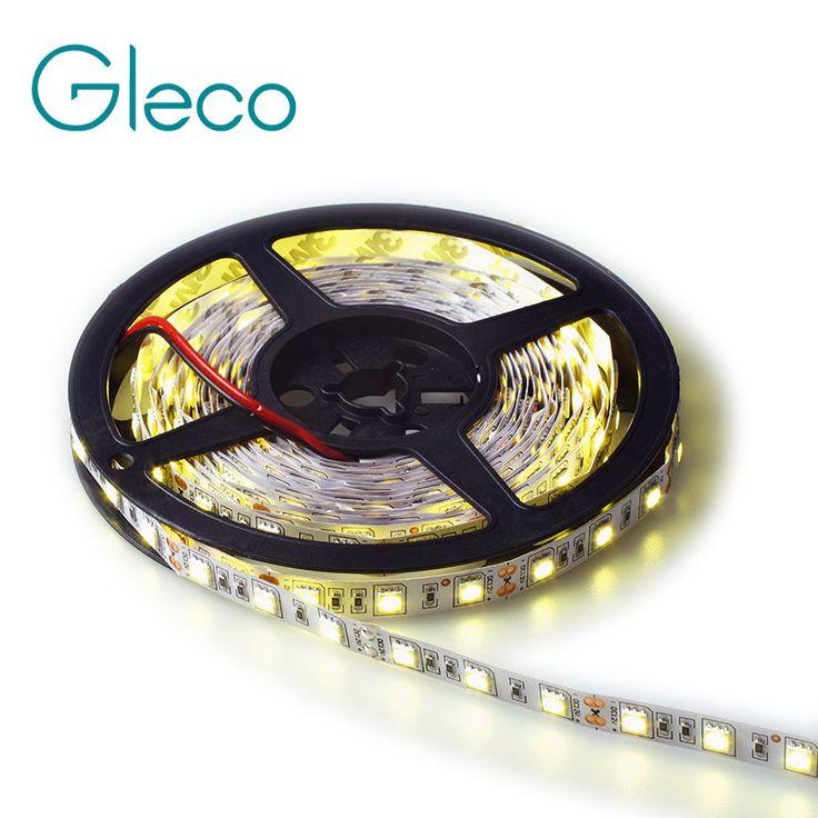 DC12V LED strip 5050 Fleksibel Cahaya 5 M 60led/m RGB, Putih, putih Hangat, Dingin putih, biru, Hijau, Merah, Kuning, IP20/IP65 tahan air