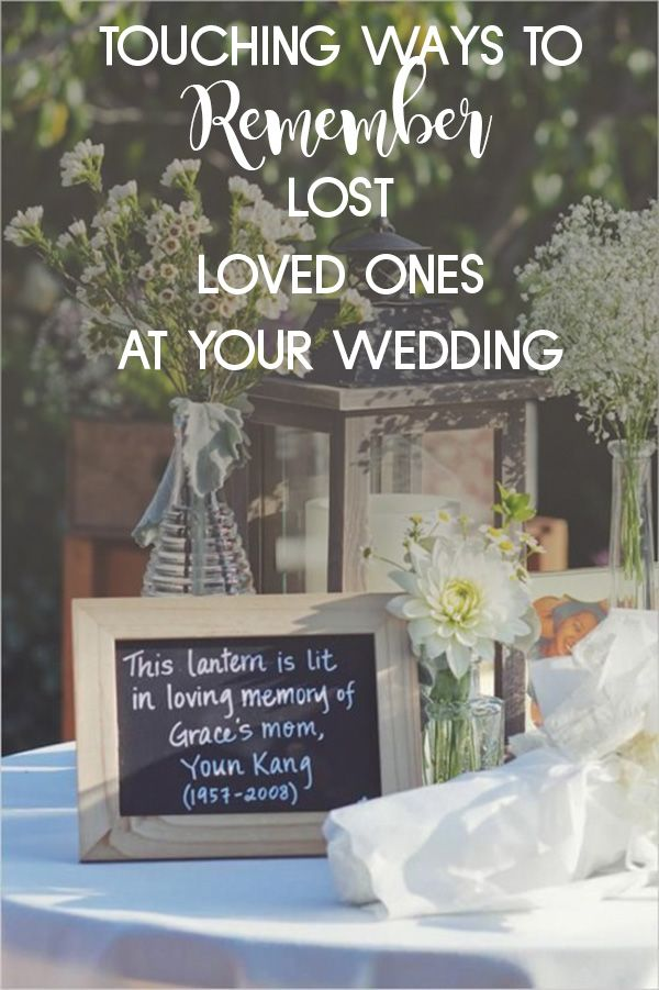 20 Ways To Honor The Departed At Your Wedding Weddingmix Wedding Mix Fall Wedding Diy Wedding Event Planning