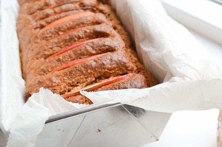 Suikervrije Cake van Appelmoes, Haver en Roggemeel - Blij Suikervrij