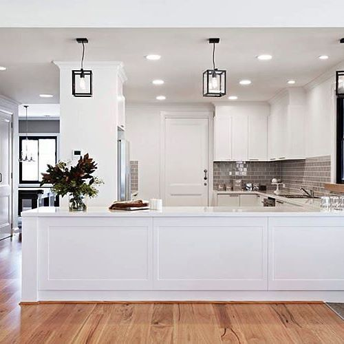 236 best images about kitchen on pinterest for Long kitchen ideas
