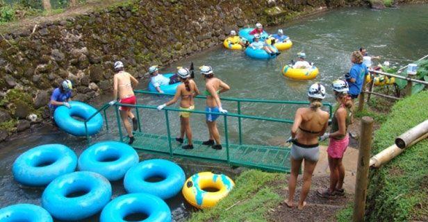 Tubing on an old sugar plantation? Fun!    Mountain Tubing Adventure - Kauai Activities - Kauai Guide    http://www.hawaiiactivities.com/us/hawaii/kauai/sg/1221/ag/6415/