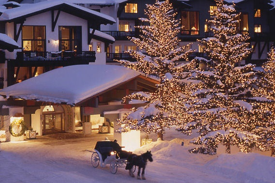 The Lodge at Vail, Colorado luxury ski resort