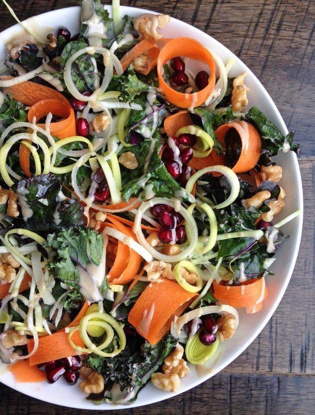 Pomegranate Walnut Salad Bake It Paleo Walnut Salad Vegan Paleo Recipes Paleo Fall Recipes