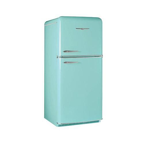 Elmira 1952 Northstar Retro Refrigerator ~ Robins Egg Blue